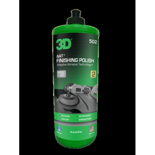 En uygun 3D 502 AAT Finishing Polish ( Hare giderici ) 1 lt. Soydan ...